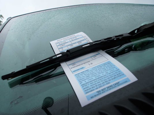 WIL PARKING TICKETS