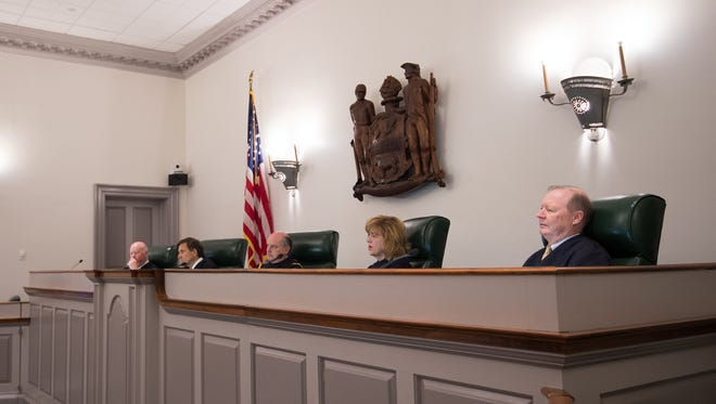 The Delaware Supreme Court heard arguements Wednesday for Catherine Culp, who was released from prison after a judge found that she underwent extensive rehabilitation while in prison.