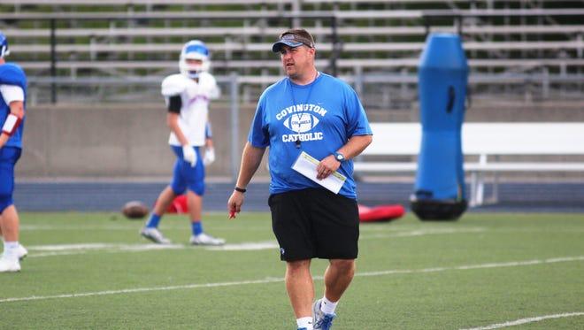 Covington Catholic head football coach Dave Wirth in August.