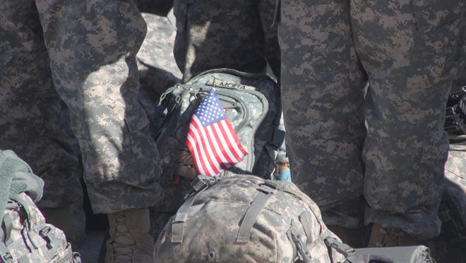 The 101st Sustainment Brigade (Lifeliners) are going back to Afghanistan this summer.