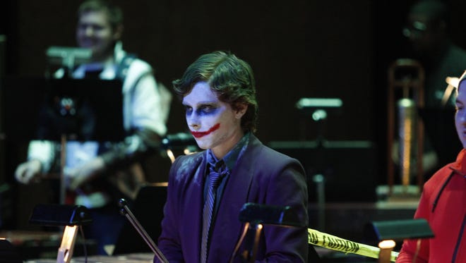 The APSU Percussion Ensemble gave two sold-out performances of their annual Halloween Concert Friday at the Mabry Concert Hall.