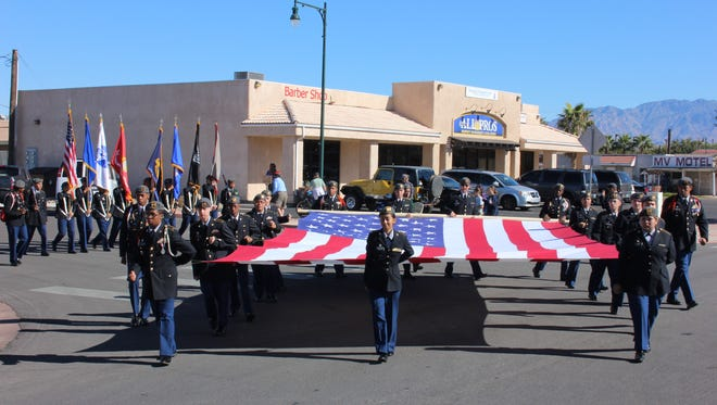 The 2015 Mesquite Veterans Day Parade.