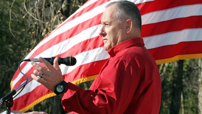 Patriot Ministries Executive Director Chaplain Terry Austin speaks passionately about his goals for their new facility in rural  Stewart, Tennessee.