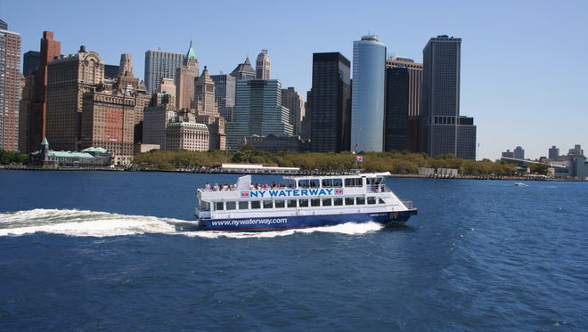 NY Waterway is offering free ferry rides to kids under 12 with each adult fare through Jan. 3, 2016. The Haverstraw-Ossining ferry is not part of the promotion.