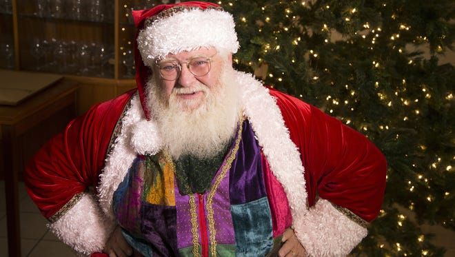 Mark Brenneman, of Chandler, has been playing Santa for 43 years. It all started when he was a school teacher in 1972 and a kindergartener tugged on his beard.  November 28, 2015.
