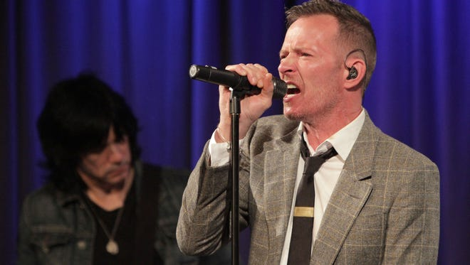 Scott Weiland performs at An Evening With Scott Weiland at The GRAMMY Museum on October 5, 2015.