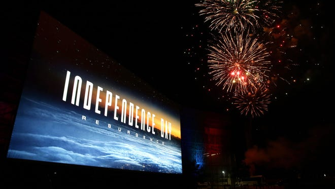 """EXCLUSIVE -  A general view of atmosphere seen at the """"Independence Day Resurgence"""" Global Production Event on Monday, June 22, 2015, in Albuquerque, New Mexico. (Photo by Eric Charbonneau/Invision for Twentieth Century Fox/AP Images)"""