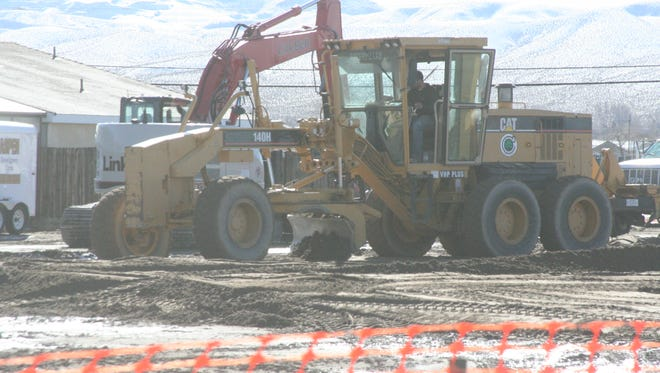 Fernley Chrysler Dodge Jeep Ram recently broke ground on a new dealership off of Newlands Drive.