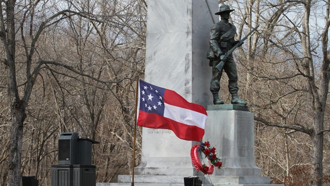 Fort Donelson held two ceremonies Saturday to honor fallen Federal and Confederate soldiers from the pivotal February, 1862 battle.