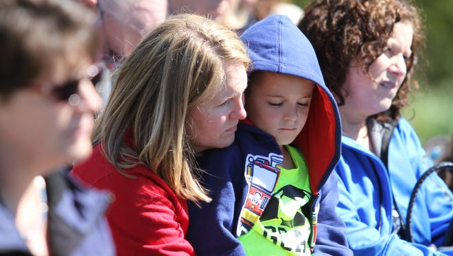 Friends and family members gathered at Swan Lake Park Saturday for the 7th Annual Children's Memorial Garden Remembrance Ceremony.