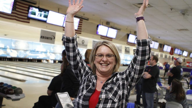 The 33rd Annual Bowl for Kids Sake, a fundraiser for Big Brothers Big Sisters of Clarksville at the Pinnacle Family Entertainment Center Saturday.
