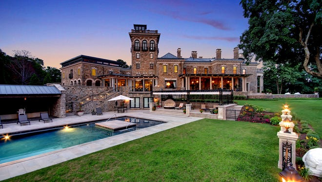 Stronghold is a seven-bedroom mansion on more than 32 acres in Bernardsville, marketed by Coldwell Banker.