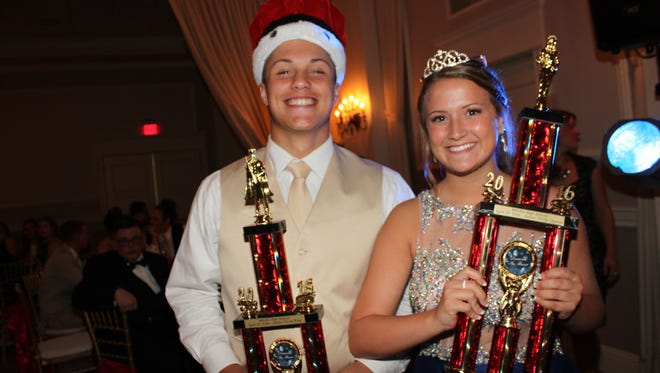 Millville Senior High School's Junior Prom was held April 29 at the Greenview Inn in Vineland. Nick Grotti and Brooke Shaw were chosen by their peers as king and queen.