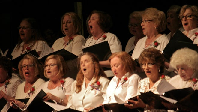 Monroe Township Chorus hosted its annual tribute to our armed forces on May 16.