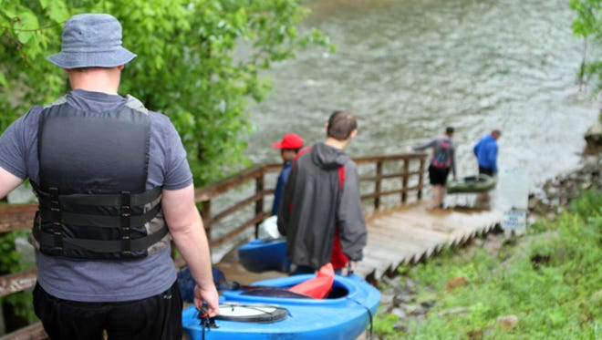 """Canoe and kayak enthusiasts will take to the water on Saturday at Robert Clark Park as part of Clarksville Parks & Recreation's """"Float the River."""""""