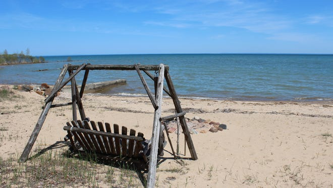 Will you take a summer vacation? This is Lake Huron in Michigan's Thumb near Port Sanilac.