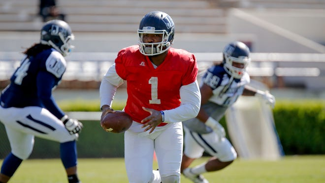 Jackson State quarterback LaMontiez Ivy and his Tigers teammates will face Grambling on Sept. 17 on ESPN3.