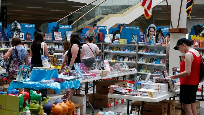 Friends of the Library is holding its annual Scholastic Book Fair though Friday. Money raised goes to support CMC Public LIbrary's Summer Reading Program.
