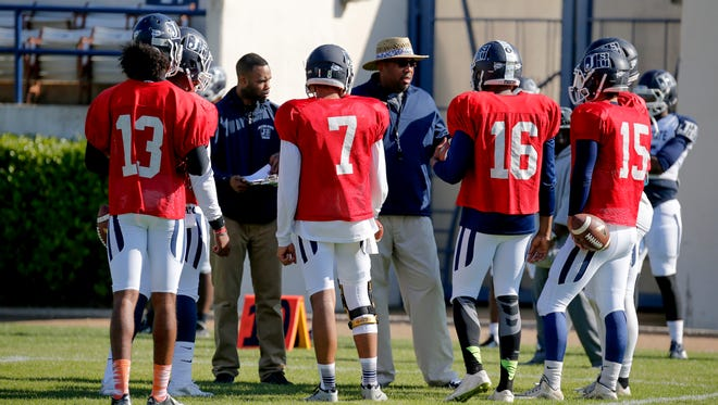 JSU offensive coordinator Chad Germany is in his first year in charge of the Tigers' offense.