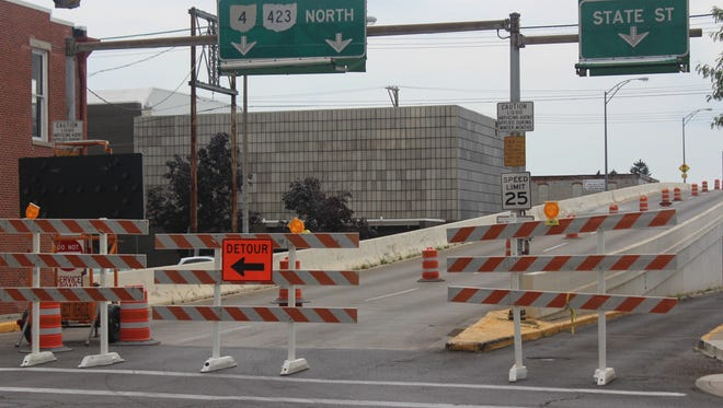 The State Street bridge in downtown Marion will be open to traffic beginning at 5 p.m. on Monday, according to the Ohio Department of Transportation District 6. The bridge has been closed for repairs since July 28.