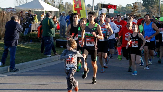 Runners of all ages will participate in Saturday's Go Commando. The 6th annual event includes a 5K and a half marathon and will take place this year at Old Glory Distilling Co.