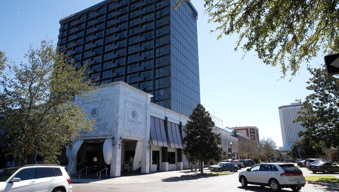 Construction of a rooftop lounge on the DoubleTree by Hilton on South Adams Street may push forward renovations to Governor's Walk.
