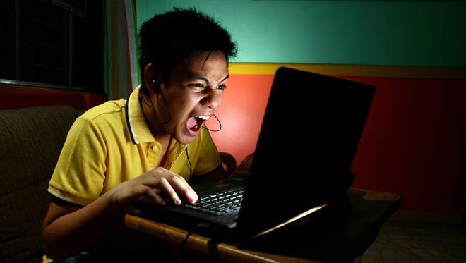 Is your child reacting to the game? Or political talk on online gaming sites?
