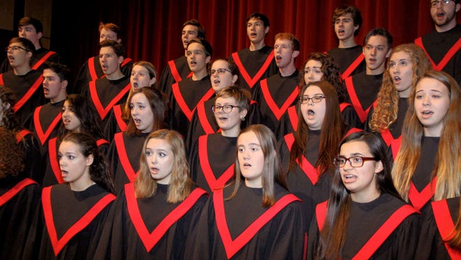 All 320 Fond du Lac High School choir students will participate in the 24-Hour Sing-A-Thon on Friday and Saturday. Alumni and other local choirs, including those from elementary and middle schools as well as the South Shore Chorale will participate.