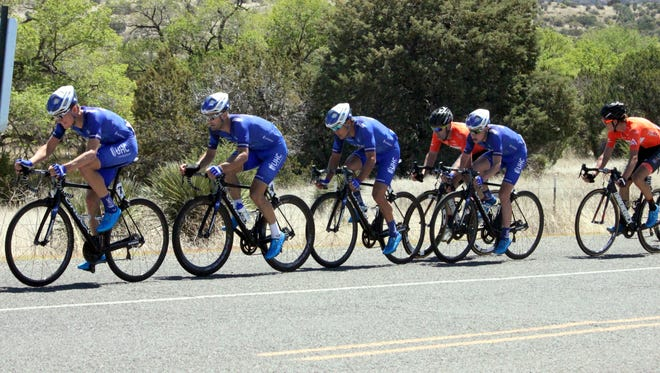 United Health Care had great position entering Fort Bayard in the end of Stage 2 on Thursday in the annual Tour of the Gila.