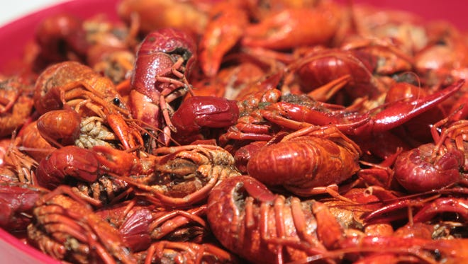 The Crawfish Festival is this weekend.