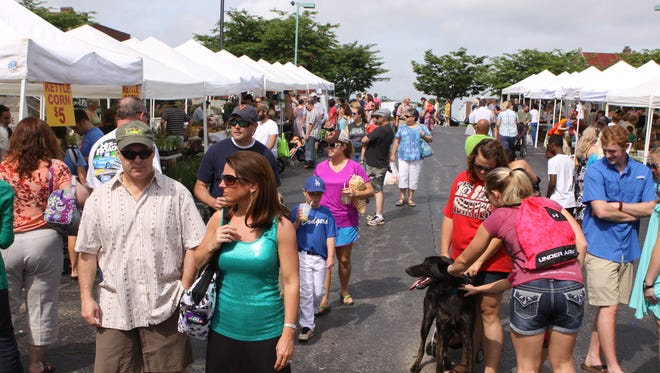 Clarksville's Downtown Market at One Public Square features a wide variety of food, arts & crafts and other items.