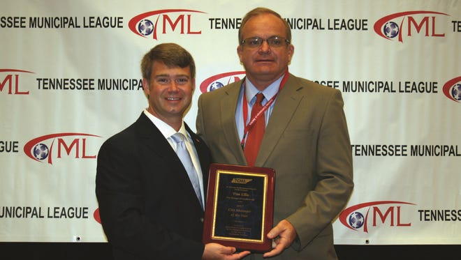 Goodlettsville City Manager Tim Ellis wins 2017 City Manager of the Year Award from the Tennessee City Management Association.