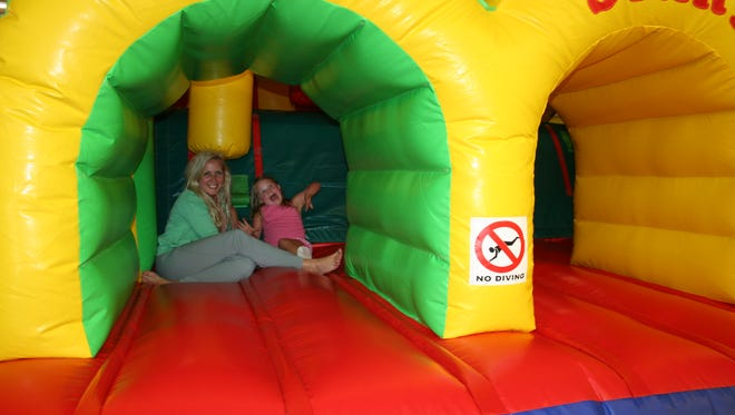 Cheatham County Kids and their parents had some fun at Boomers in Ashland City.