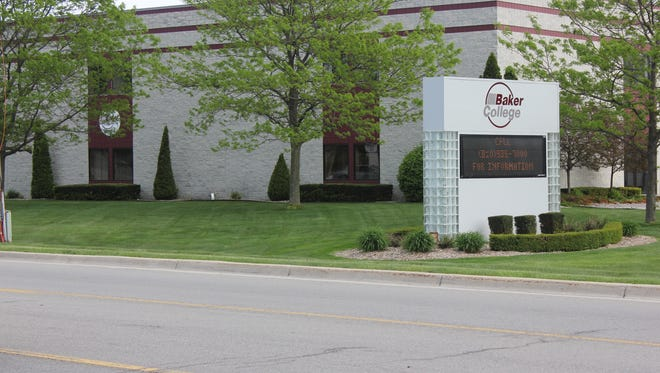 The Baker College campus in Port Huron Township is for sale for $2.9 million.