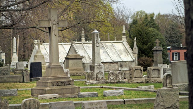 The Wilmington and Brandywine Cemetery, a 25-acre site on Delaware Avenue in Wilmington, is the final resting place for many notable Delawareans.