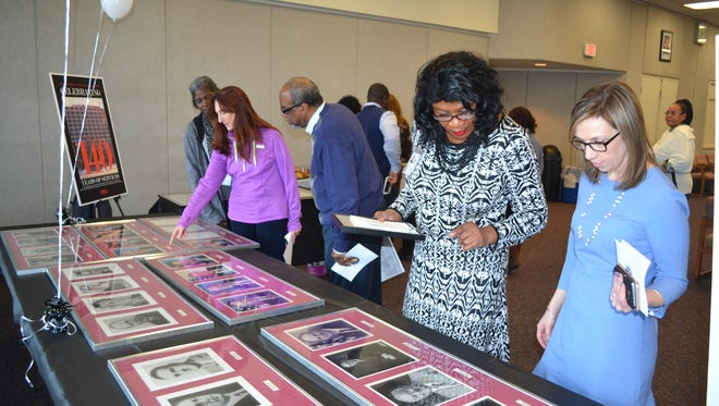 The New Jersey Department of Labor and Workforce Development is celebrating 140 years of services to residents of New Jersey. A collection of artifacts, historic documents, and pictures from the department were displayed in their Trenton Auditorium for staff members to read and enjoy.