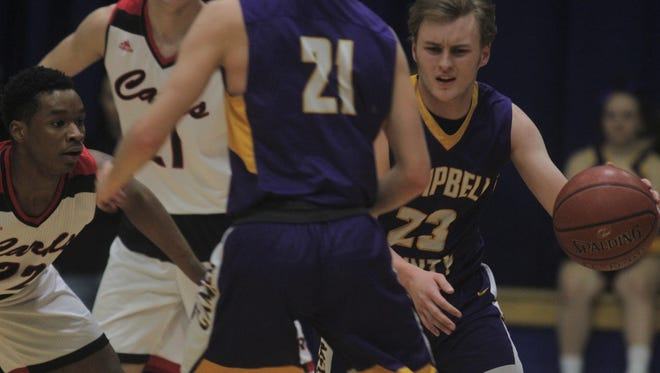 Campbell County senior Joel Day had 31 points against Clark