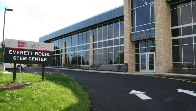 The Everett Roehl STEM Center Building on UW-Marshfield/Wood County campus.