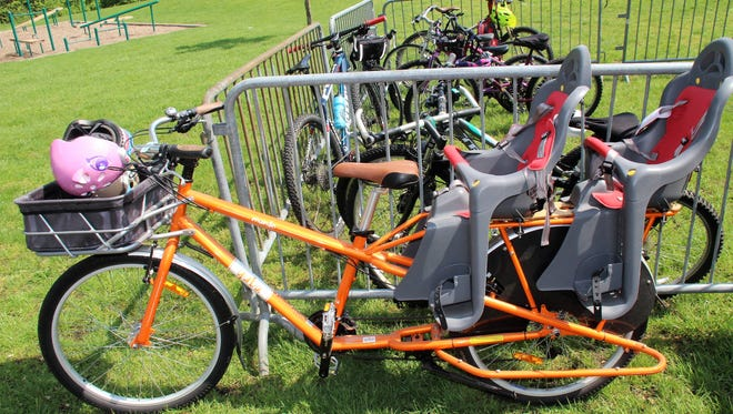 If you bike to the Earth Festival at Croft Farm, you can rest assured your bike will be kept safe at the free Bike Valet, supported by the Courier-Post.