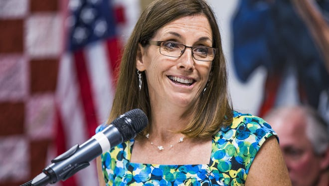 "U.S. Rep. Martha McSally, R-Ariz., questioned U.S. Customs and Border Protection Commissioner Kevin McAleenan about what she characterized as immigration ""loopholes"" at the U.S. border."