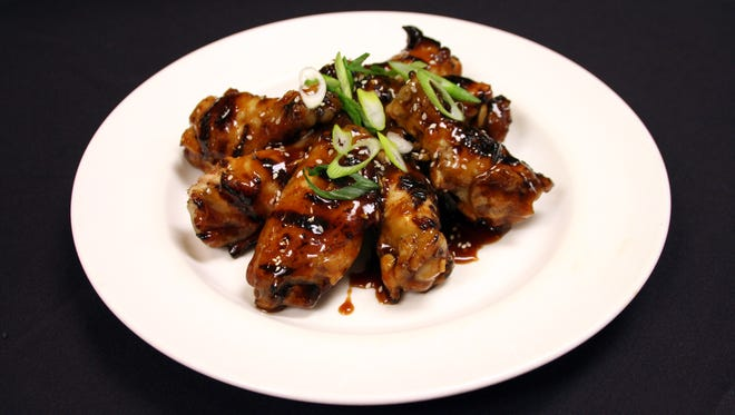 Asian Chicken Wings from The Buffet.