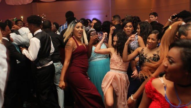 Kenwood High School held its prom Saturday at Valor Hall in Oak Grove, Kentucky.