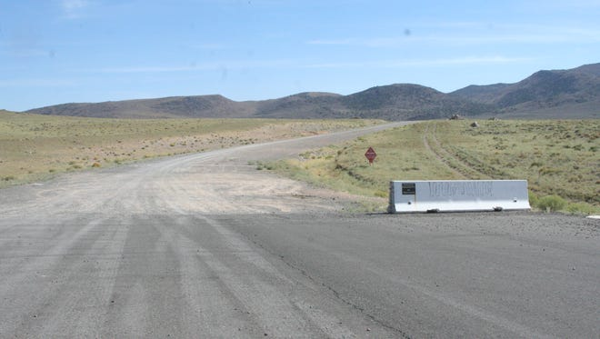 USA Parkway currently ends south of the Tahoe Reno Industrial Center.