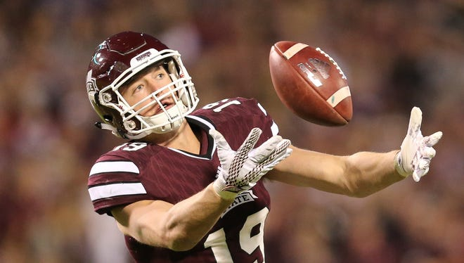 Mississippi State tight end Gus Walley and his team look to avoid an Alabama hangover after its loss Saturday.
