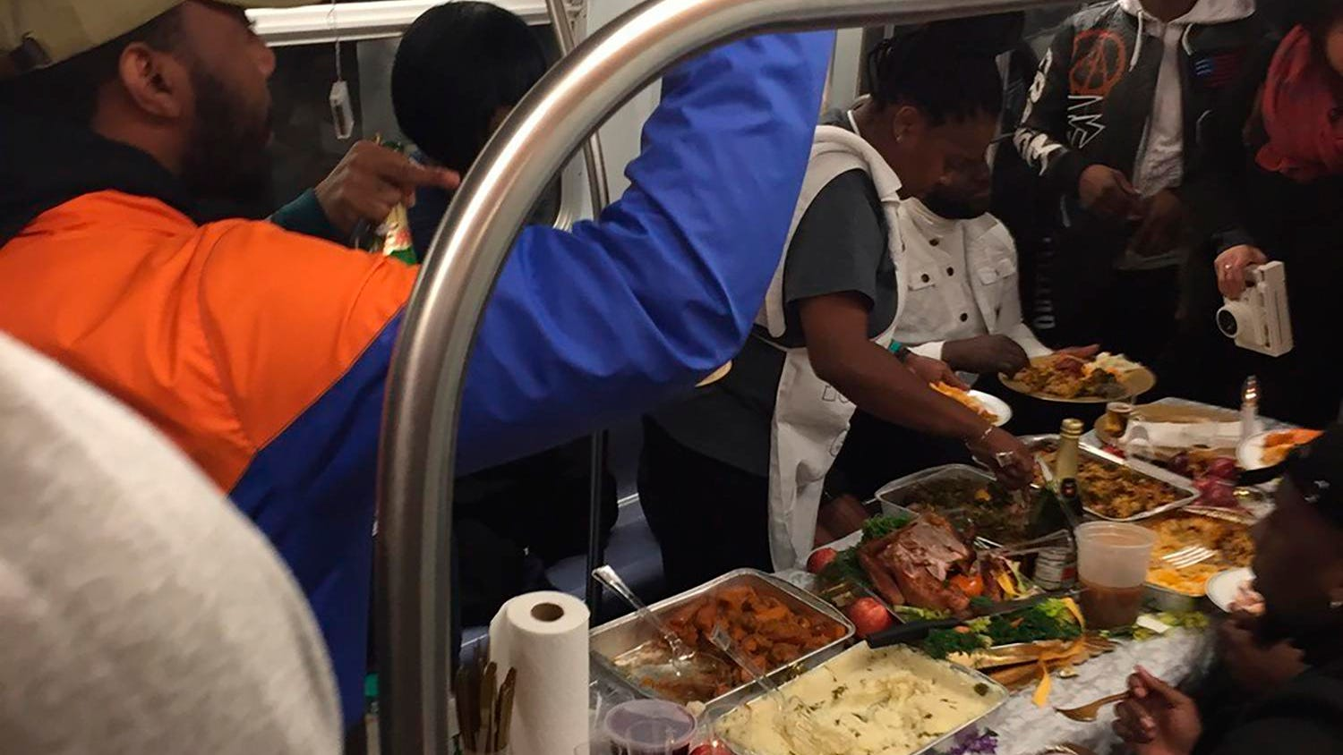 A subway Thanksgiving, too-high horse: News from around our