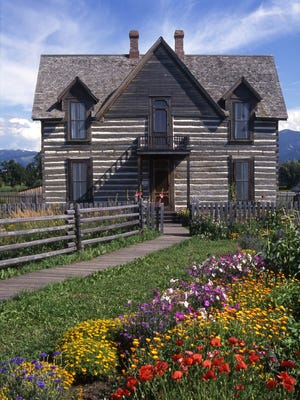 The centerpiece of the living history farm at the Museum of the Rockies is an old homestead originally built in Willow Creek in 1889.