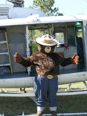 Smokey Bear will make an appearance at this year's