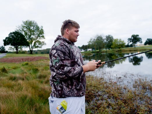 Vols Fishing With Tennessee Commit Cade Mays
