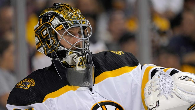 Jaroslav Halak is ready to take the call to play in Bruins goal Sunday if Tuukka Rask isn't available.