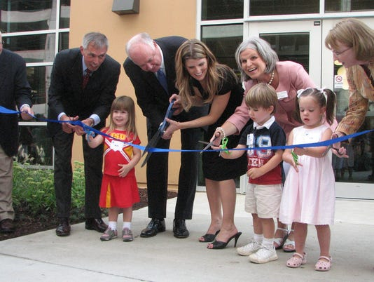 Principal opens child care center